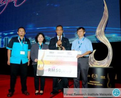 FRIM HTD system wins National Innovation Award 2013 – Forest