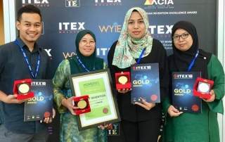 wins four golds at ITEX'18